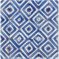 DOA1010C09  Lisbonne Bleu 10x10