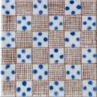 D01321N1E107 Bullaregia Bleu 10x10