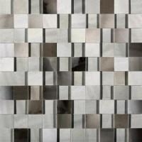 739967 ALABASTRI Fume Mosaico 3D 3x3 Lap Ret 30x30