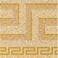 37243 Vanitas GRECA ORO/ NOCE/GOLD 39,4x39,4