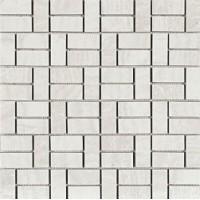 TES76955 DOMUS Mosaico Brik Bianco Glossy 30X30 30x30
