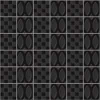 7VF14MD Deco Dantan Comp.Mosaico 36pz Noir 30x30