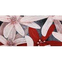 Апрель бордовый-2 25x50