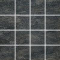 747762 Ardoise Noir Mosaico 7.5x7.5 6mm 30x30