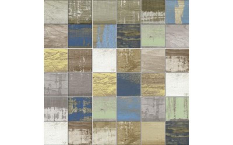 Мозаика Mosaico Chalkwood Vestige Natural  29.75x29.75 Aparici TES76589