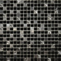 Мозаика матовая черная 2022 Роскошная мозаика