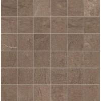 G20421  Foussana Mud Mosaico Lapp Rett (tozz. 5x5) 30x30