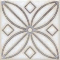 STG/A402/1266 Амальфи орнамент коричневый 9.9*9.9