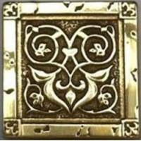 TES102672 Декоративная латунная Валенсия 5x5
