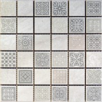 TES79360 Атриум серый 20x20