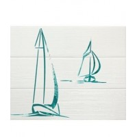 Керамическая плитка Set (3) Wind Turquoise (комплект 3 плитки) (APE Ceramica)