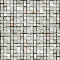 Мозаика  серебряная PST-034 Natural