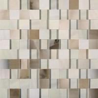 739966 ALABASTRI Bamboo Mosaico 3D 3x3 Lap Ret 30x30