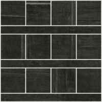 57390 Mosaico Texture Noir 20x20