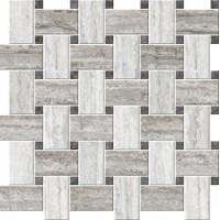 ITALIAN ICON VEIN Cut Chesterfield Mix Freddo Mosaico Lapp Lux 42,1x42,1