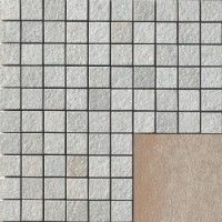 4704570 Amazzonia Mosaico DRAGON BROWN 3x3 30x30