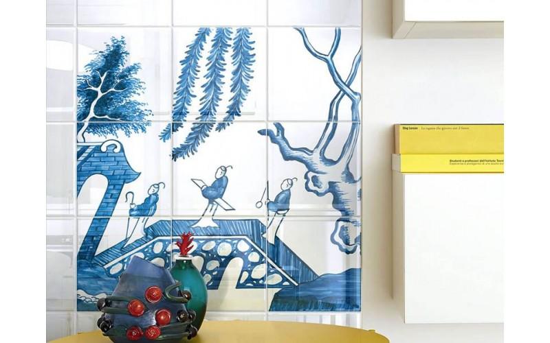 Керамическая плитка Коллекция BLUE WILLOW