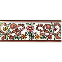 929886 Бордюр TIRA AMAYA MARRON Cas Ceramica 7.5x20