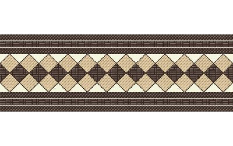 Керамическая плитка Granilia напольный коричневый  330х110 11x33 Cersanit (GN5E452)