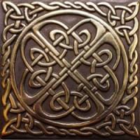 Декоративная латунная Уэльс 5x5