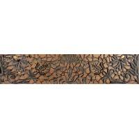 CREMA STELLA Cenefa Bronze 5.4x25