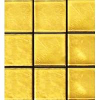 Aureo Modern 024 желтое гладкое 2x2 31.6x31.6