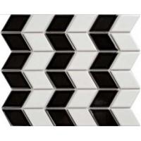 Мозаика  черно-белая Primacolore CE718MLA