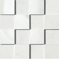TES130 Carrara Mosaico 3D 30x30