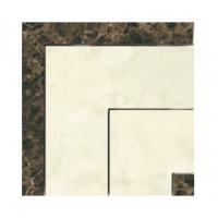 PER06612 Декоративный элемент (Керамогранит) PERONDA MUSEUM OPALO-BACH-ONICE-ZAR Вставка E. ZAR-B/P 8x8