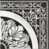 Керамическая плитка  черная под мрамор Cersanit C-VX6R452DT