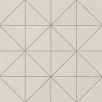 AUID Arkshade White Mosaico Prisma 36x36