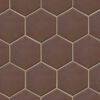 936281 Керамогранит HEXATILE MARRON MATE Equipe Ceramicas 17.5x20