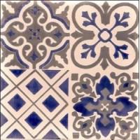 Керамическая плитка  метлахская Diffusion Ceramique TRC1515D17C