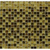TES80178 Mirror gold (стекло) 30x30