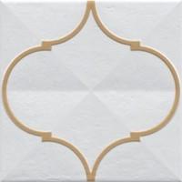 920180 Декор ETNIA OROMO OCRE Vives Ceramica 20x20