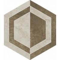 Scratch Beige Heksagon B Mat. 26x29.8