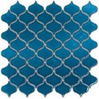 EMOI3030ARA04 Arabesque Bleu chinois 30.5x30.5