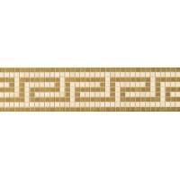 3x60 Vanitas Fascia Greca BEIGE/GOLD 9,8x39,4