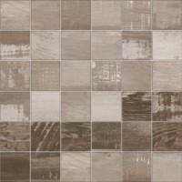 TES76588 Mosaico Chalkwood Brown Natural 29.75x29.75