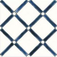 DOM2020C31  Carreau Pergola Bleu 20x20