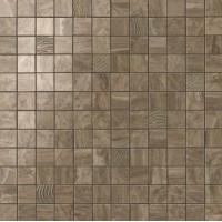 600110000067  S.M. Woodstone Taupe Mosaic 30.5x30.5