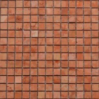 TES77647 Marble Mosaic Rosso Verona 15*15 305*305 30.5x30.5