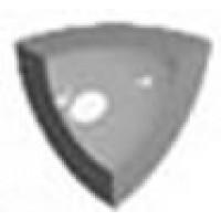 MESINGOA02 Angle int Gorge Vert Fonce N02 2.5x2.5