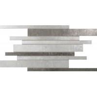 2WF06I0 Warm Stones Comp. Listelli Melange 9pz Grey/Anthracite 29x61
