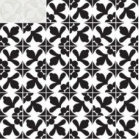 7VF08MM Deco Dantan Comp.Mosaico 36pz Blanc 30x30