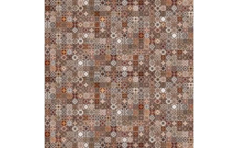 Керамогранит D Hammam коричневый  42x42 Cersanit HA4R112