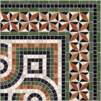 TES111 Cantonera Paxos 43,5x43,5 Multicolor g.76 43.5x43.5