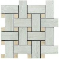 TES4098 Mosaico Intreccio Grigio Lapp Rett 30x30