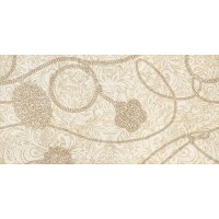 CREMA ALLURE-1 Decor Marfil 25x50