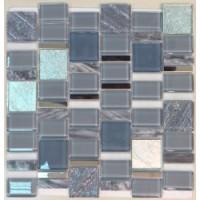 MDL-35  Luxury из стекла, натурального камня и металла 39.9x39.9